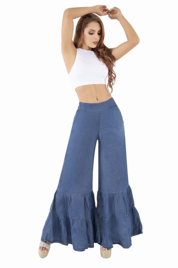 Jeans palazzo con bolero UP 517