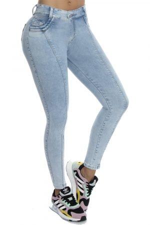 Jeans clásico azul hielo B 530