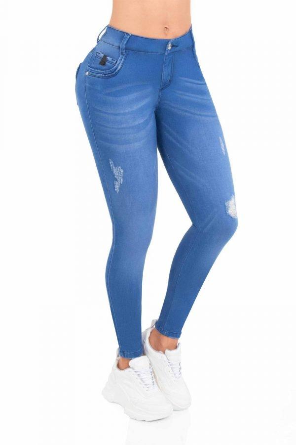 Jeans clásico azul B 850