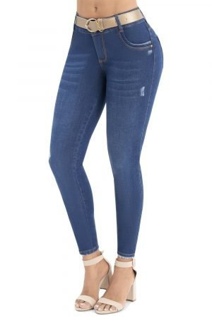 Jeans clásico bota skinny UP 858