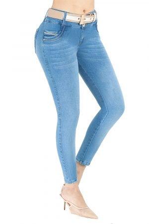 Jeans levanta cola clásico S-2101