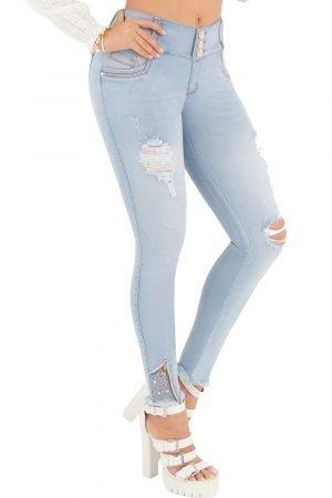 Jeans de moda colombia levanta cola S-2122