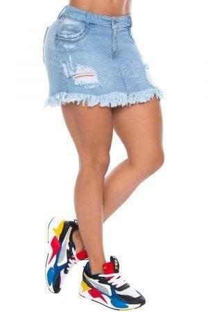 Falda Levanta Cola de Jeans de Moda Colombia B-409